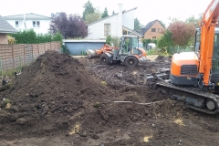 Bodenarbeiten Oktober 2017