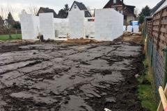 Vorbereitungen Bodenplatte