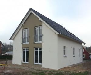 Gebaute Häuser